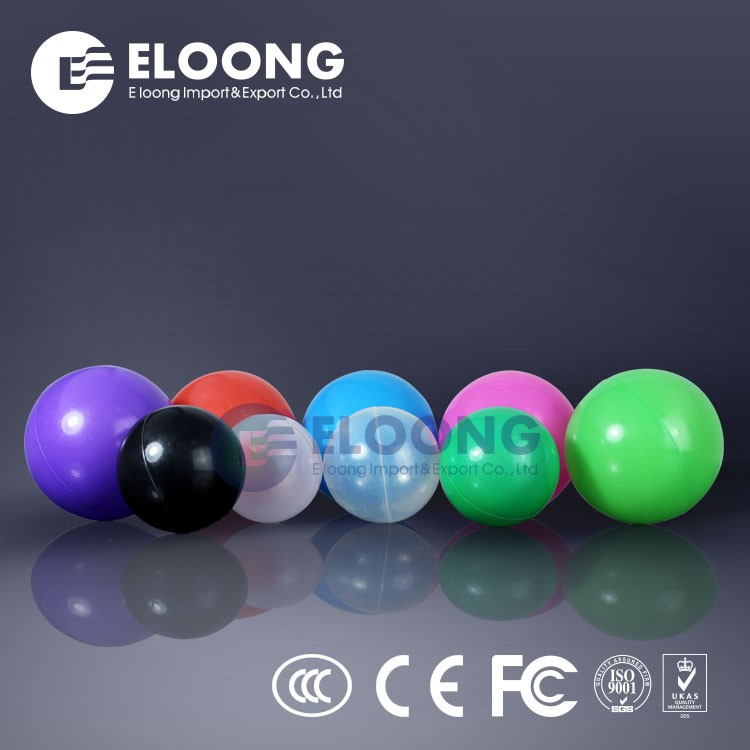 hollow plastic balls for toy play ball