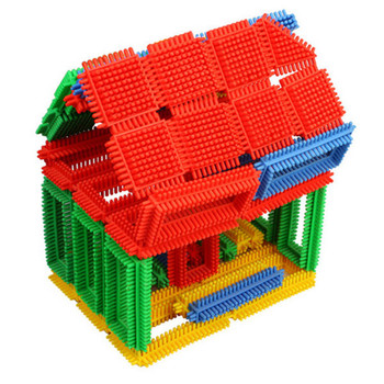 Plastic Kid House Toy/non-toxic House Toy Custom Plastic Building ...