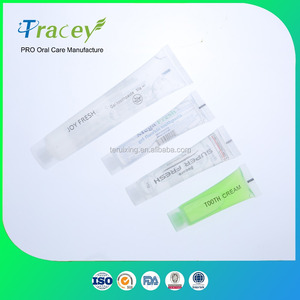 OEM ODM gel disposable hotel toothpaste cheap mini bulk toothpaste for travel&dental clinic
