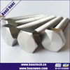Alibaba Supplying DIN933 Titanium HEX HEAD BOLTS