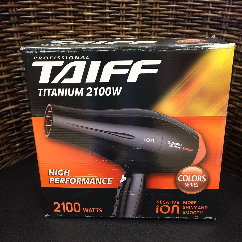TAIFF Titanium Hair Dryer, 2100W Buy