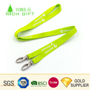 Wholesale china cheap price custom silk printed flexible safety tool  lanyard with retractable badge reel