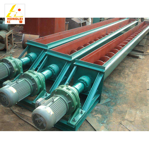 Hot selling hopper auger stainless steel spiral screw conveyor