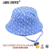 customize printed women summer beach bucket hat