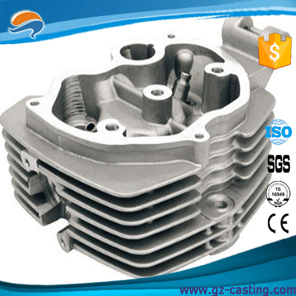 Alibaba wholesale oem factory China customized ISO 9001:2008 certificated motocycle cylinder head