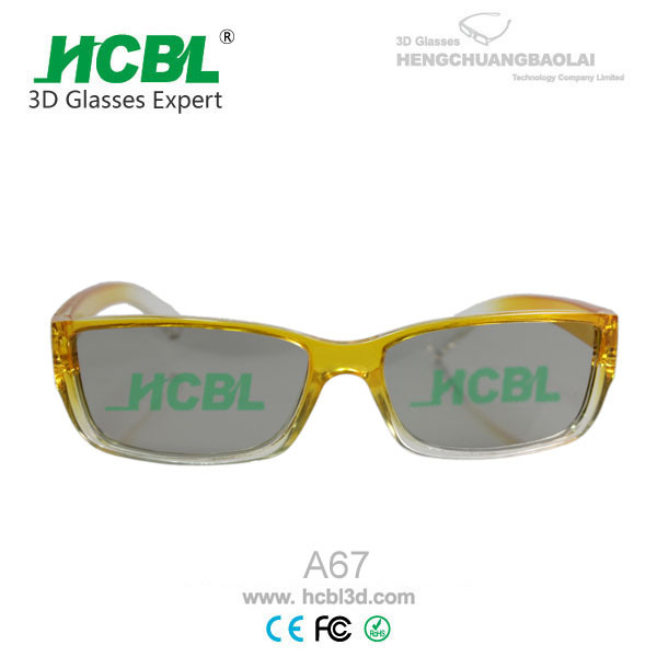 3d passives glasses circular 3d glasses for home theater