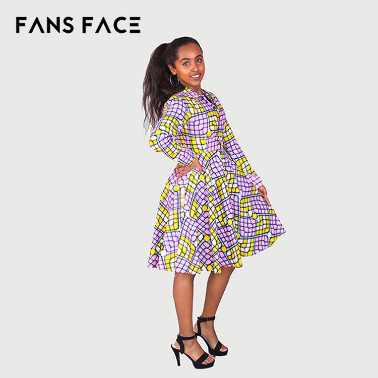 Best Traditional Cotton African Kitenge Dress Designs