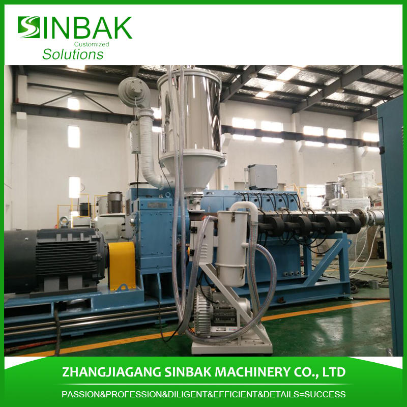 2in double strand turkey popular pvc garden pipe making machine pvc hose pipe single screw extruder