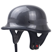 DOT <span class=keywords><strong>Moto</strong></span> Style Allemand Demi Casque Ouvert Chopper Cruiser Scooter Harley vélo casque M35 style