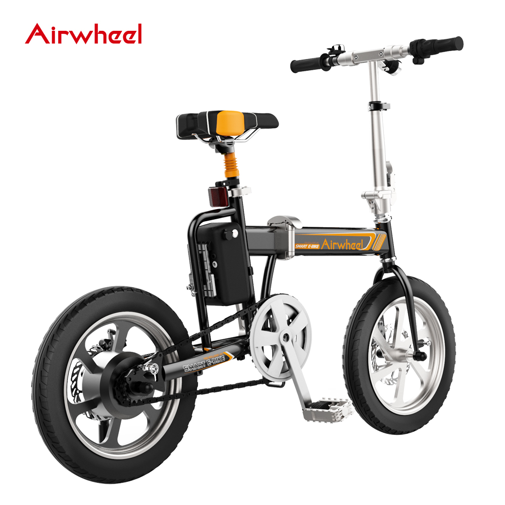 2069ce7298c Airwheel R5 Folding Electric Bike with Intelligent APP and Lithium Battery,  View bike, Airwheel Product Details from Changzhou Airwheel Technology Co.,  ...