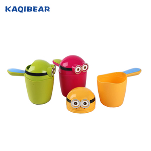 baby accessories sample free plastic shampoo rinse cup for babies