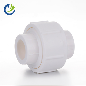 BS upvc pipe fitting for cold water supply upvc female thread union