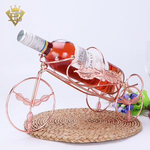 Great Gift Wine and Champagne Bottle Rack Wine Bottle Tabletop Holder
