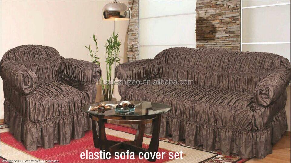 3pcs Elastic Cheap Jacquard Sofa Cover Set Buy Elastic Sofa