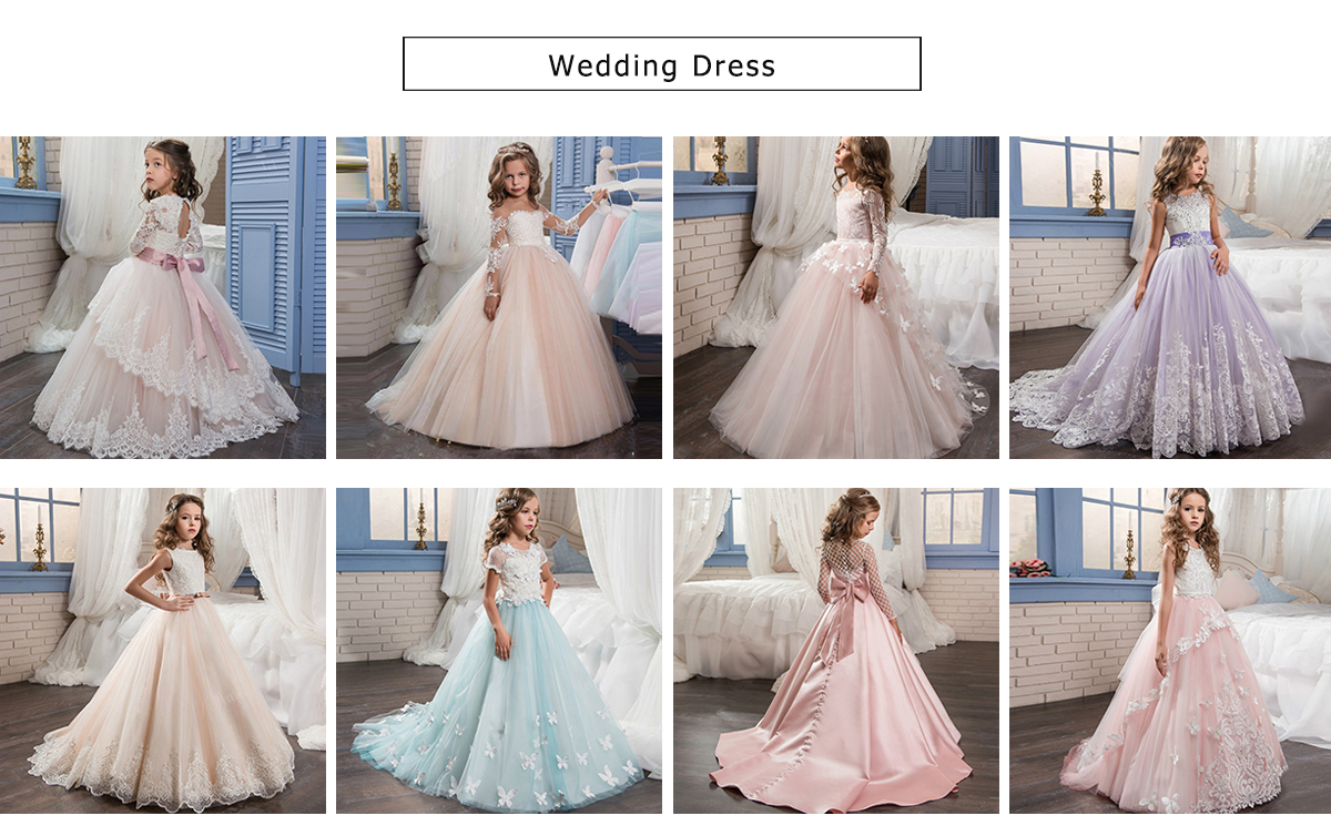 d181992a726c17 Boutique Wholesale Junior Party Dresses Girls Wedding Ball Gowns Butterfly  Lace Applique Bridesmaid Pink Dress