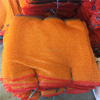 Orange color packing potato mesh bags 5kg