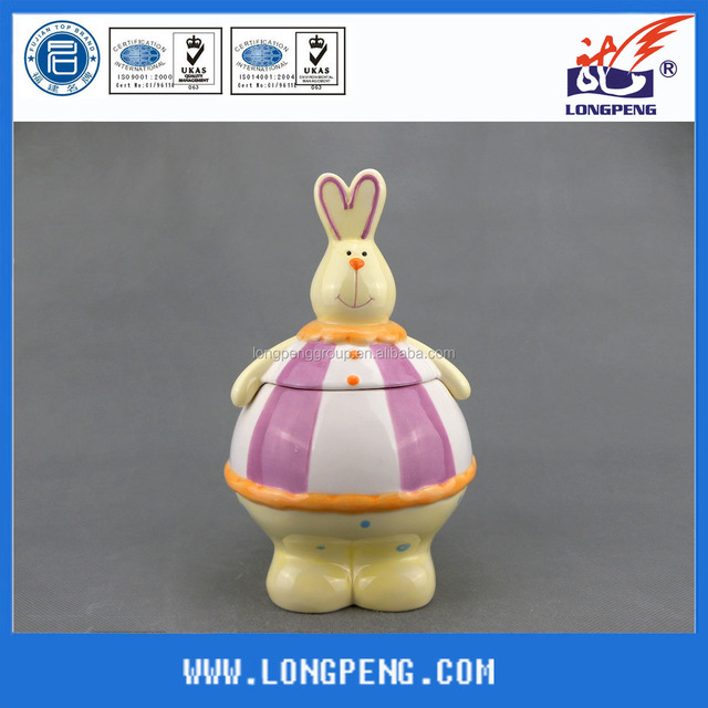 Buy cheap china rabbit easter jar products find china rabbit easter rabbit candy cookie jars gifts negle Image collections