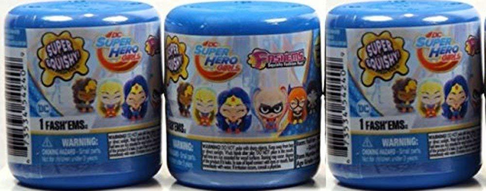 DC Comics Super Hero Girls Fash'ems Blind Pack Capsule - 3 Mystery Packs Per Order