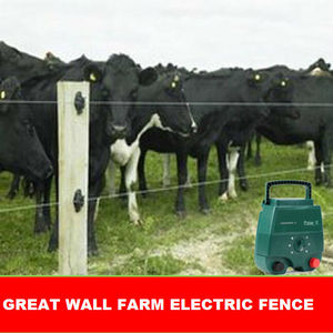 2J Solar powered farm electric fence energizer/charger/ energiser for cows/ cattle,goat