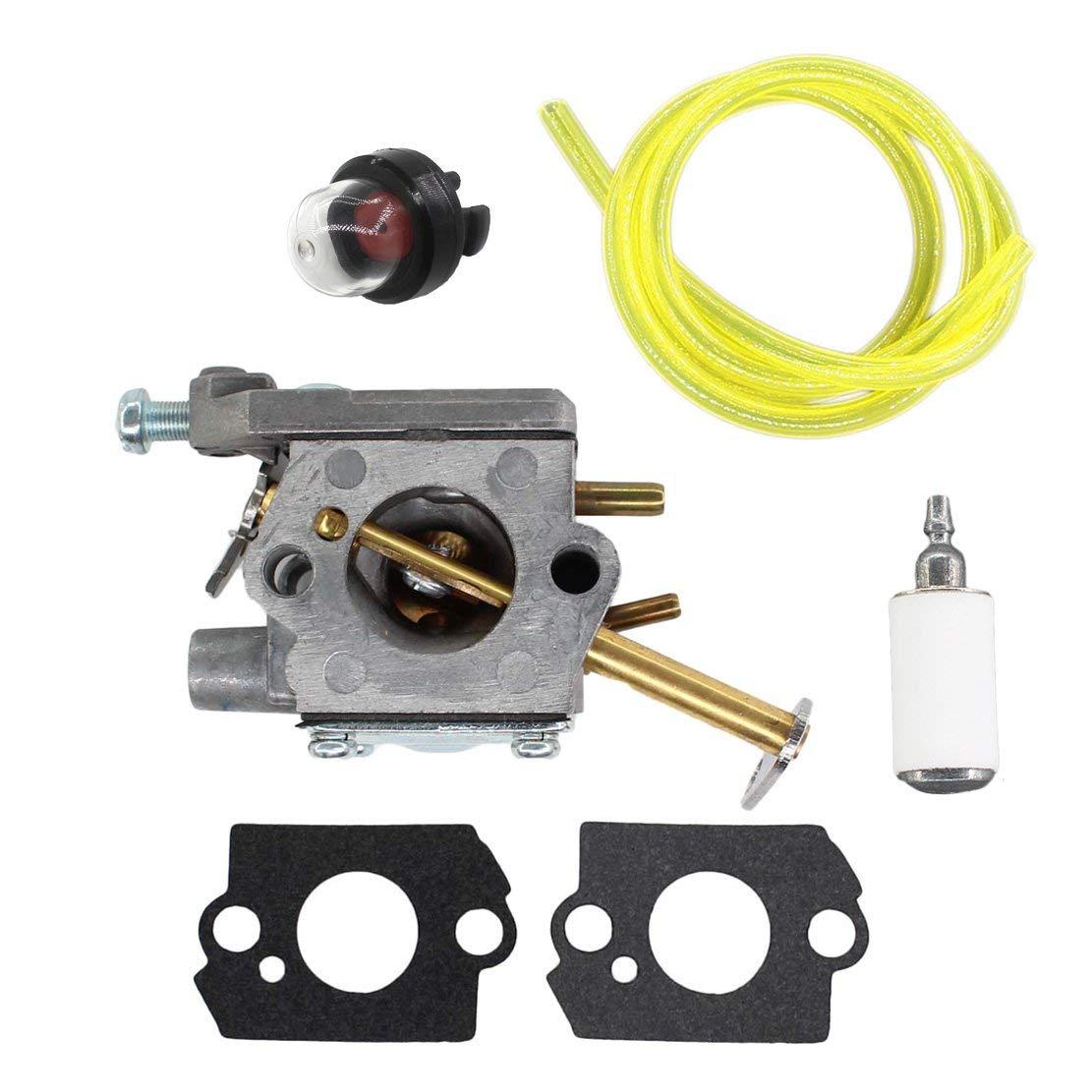 USPEEDA Carburetor for RY74003D 000998271 UT-10532 UT-10781 UT-10926 UT10514 UT-10847 UT-10901 UT-10933 UT-10853 UT-10883 UT-10870 A09159 300981002 Zama C1Q-H42 C1Q-601 Fuel Line Primer Bulb
