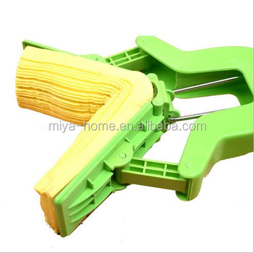 Hot selling telescopic fold on the word cotton mop / sponge PVA absorbent hand wash mop household items
