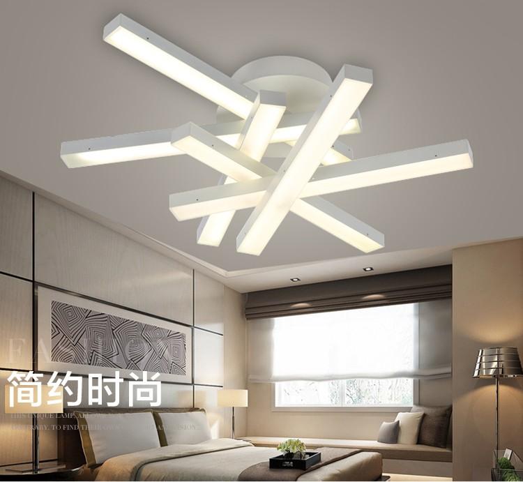 Moderno led lampadario lampade a led luce bianca calda - Lampadari per sala pranzo ...