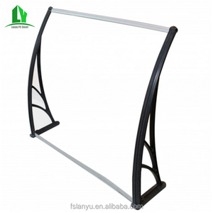 retractable light weight polycarbonate awning components
