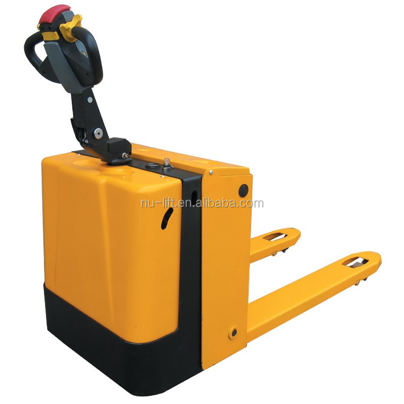 Motorized Electric Powered Pallet Jack 1500KG Capacity