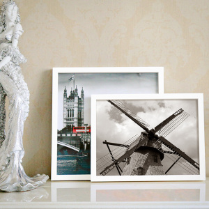 Wholesale price acrylic facing A3 A4 white photo picture frame
