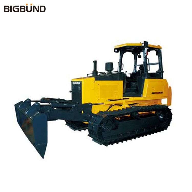 STR08E-3 STR08ES-3 SHANTUI 80hp Mini Trimming Bulldozer สำหรับขาย