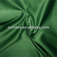 Shimmer satin evening dress fabric