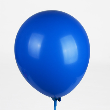 promotional customized standard 12 inch blue color latex balloons