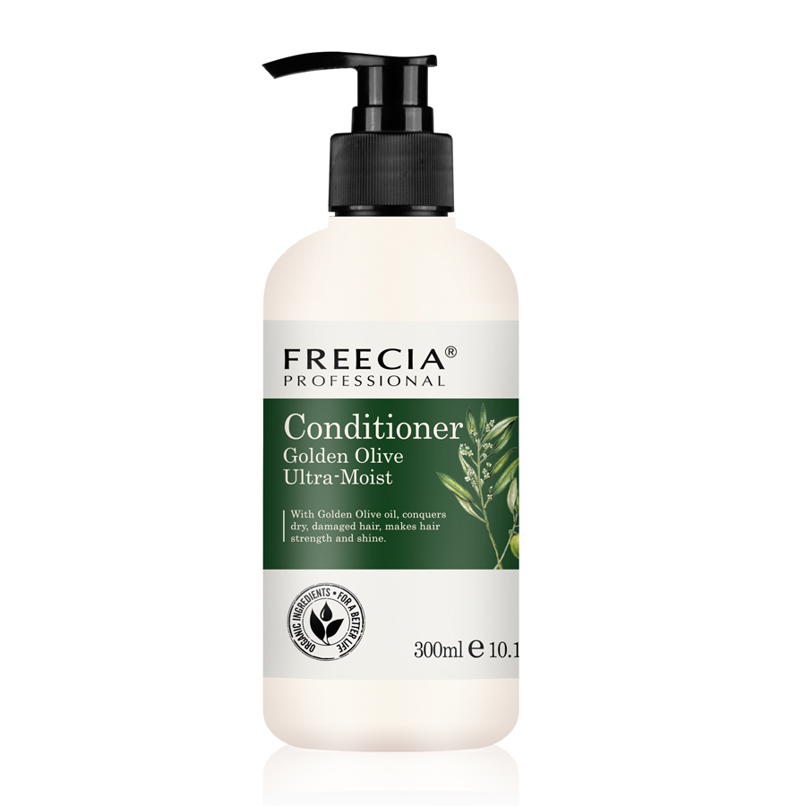 Freecia ultra moist olive oil hair conditioner for dry hair