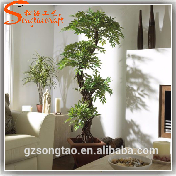 Artificiels japonais fruticosa arbre plante d 39 int rieur for Arbres artificiels interieur