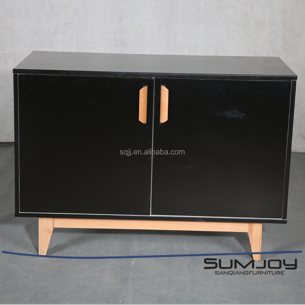 SUMJOY 2017 Modern design Wooden high gloss MDF kitchen cabinet in China