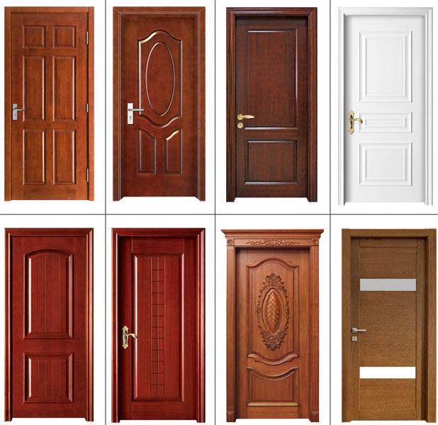 Mejor precio interior nuevo dise o puerta de chapa de - Colores para puertas de madera interiores ...