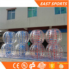 New inflatable goals football/bubble indoor soccer/soccer in big bubbles