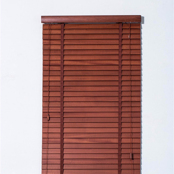 50mm slat Manual Control or motorized control faux Wooden Venetian Blinds