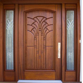 Solid Exterior Flat Teak Wood Main Double Front Entry Door Design Buy Wooden Main Door Design Wooden Double Door Designs Modern Wood Door Designs