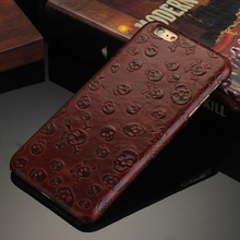 Luxury Genuine Leather Case For iPhone 6 Plus iPhone6 5.5 4.7 Cell Phone Pirates Pattern Smart Back Cover Case