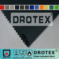 320GSM 98% Cotton/2% Carbon Fiber Fire Retardant Antistaitc Anti Acid Alkali Fabric