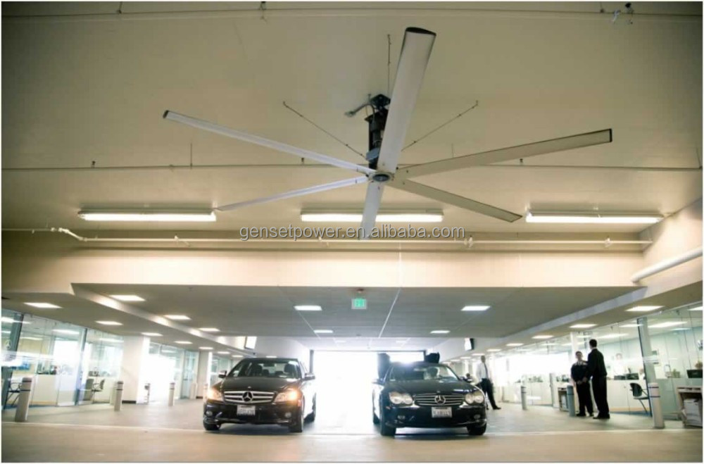 3.1m 6 Blade Large HVLS 10ft Ceiling Fan for Fair Exhibition Centers