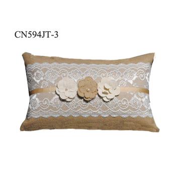 High Quality New Design Custom Jute Home Decorative Sofa Cushion