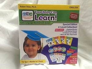 Your My Baby Can Learn UPDATED Version from READ Volume 1-4 MORE cards BRAND NEW