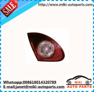 INNER TAIL LAMP BOOT LIGHT FOR COROLLA 2003 2004 2005