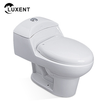 Porcelain sanitary white colour nightstool set