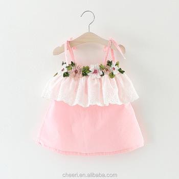 8289acb9da4f Ht-bgcd 2017 Top Quality Cute Princess Baby Girl Sleeveless Dress ...