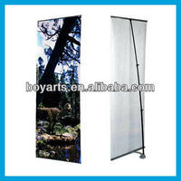 Exhibition L banner stand