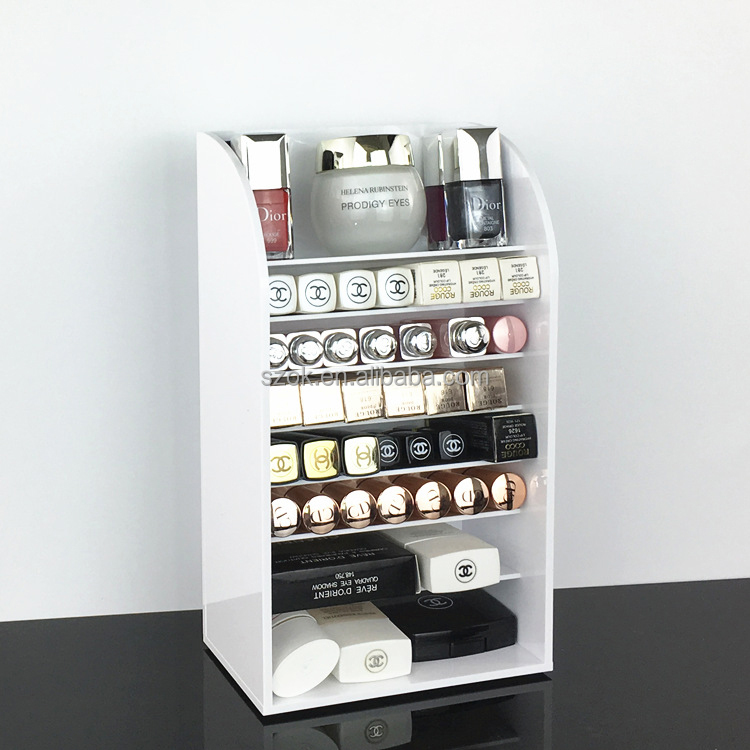 new product clear acrylic makeup /cosmatic display stand