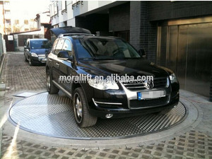 Car Parking Rotating Platform Car Turner for Storage